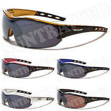 Mens X Loop Sports Sunglasses - Gold & Black Frames - Extreme Sports