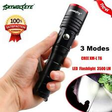 3500 Lumens 3 Modes CREE XML T6 LED 18650 Battery Flashlight Torch Lamp lot