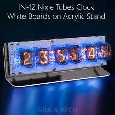 Nixie Tubes Clock IN-12 and lNS-1, Musical, USB (Arduino compatible)[WITH TUBES]