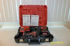 18V Milwaukee 2607-20 Hammer Drill Driver&2656-20 Impact Driver Combo WorksGreat