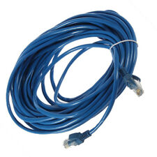 New 50FT RJ45 CAT5 CAT5E Ethernet Network Lan Router Patch Cable Cord Blue 15M V