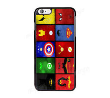 Superhero Batman Spiderman cover case for iPhone iPod Samsung Sony Marvel
