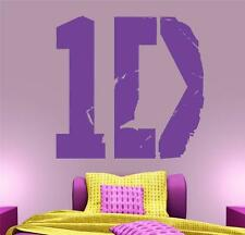1D - One Direction Wall Decal Art Sticker lounge living room bedroom