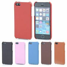 Hoco Premium Leather Back Case Cover For Apple iPhone 5 5s SE (2016)
