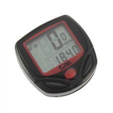 Cycling Bicycle Bike Computer LCD Odometer Speedometer Stopwatch Speed meter YKJ
