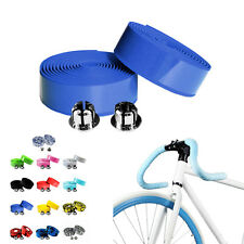 Colorful Cork Bicycle Handlebar Belt Handle Tape Wrap Bar Non-Slip Plugs