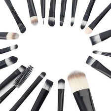 Makeup Foundation Brush Kit  For Face/Eye/Lip &15 Colors Concealer &Lipstick JN