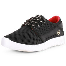 Etnies Scout Kids Trainers Black Red New Shoes