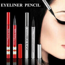Silver Red Case HOT Extreme Black Waterproof Eyeliner Pencil Pen Makeup Cosmetic
