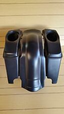 """HARLEY DAVIDSON 4"""" EXTENDED  STRETCHED SADDLEBAGS,LIDS AND REAR FENDER INCLUDED"""