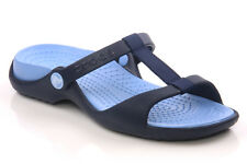 CROCS WOMENS - CLEO III FLAT SANDALS BLUE