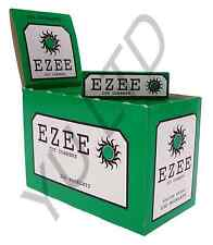 EZEE PAPERS CIGARETTE SMOKING ROLLING PAPERS CUT CORNERS 5,10,20,40,100