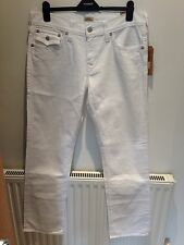 True Religion Mens Jeans Ricky Straight Relaxed W Flap Straight Core Optic White