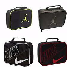 Nike insulated Lunch bag, Air Jordan Lunch Bag Volt,Gray,White,Red NEW