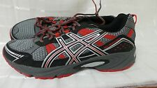 New! Asics Mens Gel Venture 4 Trail Running Shoes-Style T333N Grey/Red 183F