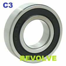 6200 Series 2RS C3 Rubber Sealed Radial Ball Bearings 6200 - 6215 2RS C3