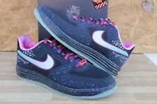 Nike Lunar Force 1 Fuse PRM QS Black/Reflect Silver Area72 Sz 10.5 (596727-001)
