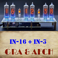 Micro Nixie Clock IN-16 Tubes, Musical, USB (Arduino comp.) WITH TUBES, GRA&AFCH