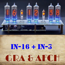 Micro Nixie Clock IN-16 Tubes, Musical, USB (Openn Source Arduino) WITH TUBES