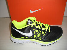 NIKE FLEX SUPREME TR 4 GIRLS- YOUTH SHOES- SNEAKERS (GS) 759990 002- BLACK/VOLT
