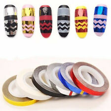 3D Decoration Nail Art Tape Line DIY Striping Rolls Tips Sticker For Nail Polish