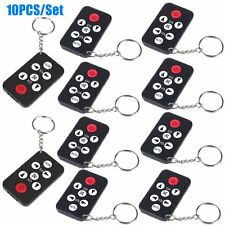 10X Universal Infrared IR Mini TV Set Remote Control Keychain Key Ring 7 Keys AU