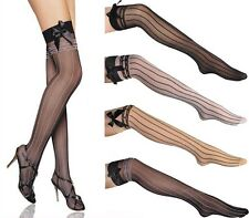Unique Sexy Bowknot Stay Up Strings Thigh-Highs Tights Stockings Pantyhose-2093