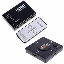 Switcher Splitter for PS3 HDTV DVD 3/5 Port 1080P HDMI Switch Remote Video MC