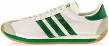 ADIDAS COUNTRY OG White-Green-Gum nylon-suede old school running sneakers new