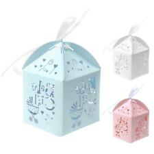 50pcs Wedding Birthday Party Favour Favor Sweet Gift Candy Box Baby Shower