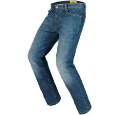 Spidi J&K Motorcycle Stretch Denim Jeans - Stone Wash Blue