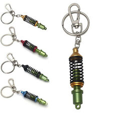New Auto Tuning Parts Key Chain Shock Absorber Keychain Spring Keyring 4Color