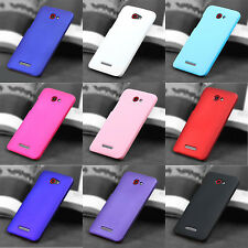 For HTC Droid DNA Butterfly X920E Snap On Rubberized hard case back cover