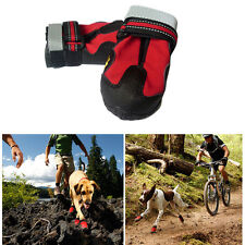 Large Dog Non-Slip Anti-Skid Rain Boots Paw Protective Waterproof Pet Shoes Safe