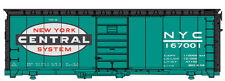 Walthers-40' PS-1 Boxcar - Ready to Run -- New York Central #167001 (Jade Green,