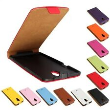Genuine leather Flip Case Cover Protector Open up for SONY XPERIA T LT30P LT30i