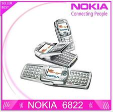 Original Nokia 6822 QWERTY Keyboard Bluetooth Video JAVA Cheap Cell phone Mobile