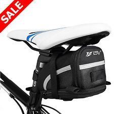 Bicycle Strap-On Saddle Bag Bike Cycling Hanger Purse Attach Expandable Seat Bag