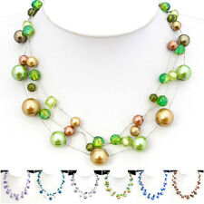 Special Offer, Venetian Pearl Silk Thread Tibetan Necklace Bracelet Earrings