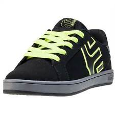 Etnies Fader Ls Kids Trainers Black Grey New Shoes
