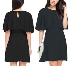 Women Sexy Casual Batwing Sleeve Evening Party Club Cocktail Plus Size Dress