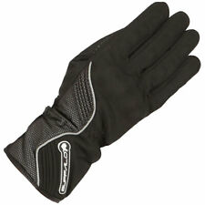Buffalo Polar Textile Waterproof Motorbike Motorcycle Windproof Gloves - Black
