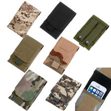 Molle Outdoor Army Hook Loop Belt Pouch Universal Phone Cover Case for iPhone 5S