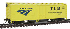 Walthers-Track Cleaning Boxcar -- Amtrak - HO