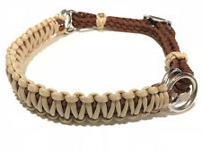 side pull hackamore attachment  desert sand and chocolate brown...mini to draft