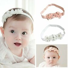 Newborn Toddler Baby Girl Vogue Cute Flower Headband Hair Band Headwear Accessoy