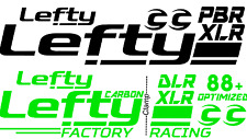 Cannondale Carbon DLR PBR XLR Lefty Large Decal/Sticker FREE SHIPPING