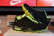 Nike Air Max 95 Mens Running Shoes Black/Black-White-Volt Size 10.5 (609048-090)