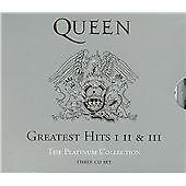 Queen - Platinum Collection grestest hits 1 2 & 3 exc 3cd 57 hits very best of