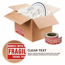 1-20 Rolls 3 x 5 Fragile Stickers Handle with Care Labels 500/Roll Self Adhesive